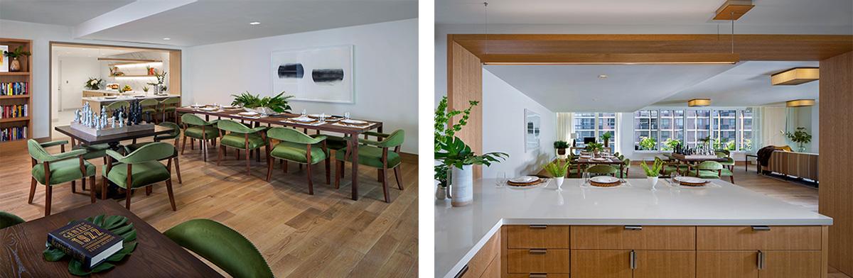 Communal space at Inspir Carnegie Hill - Maplewood Senior Living
