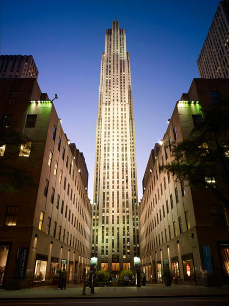 Image of 30 Rockefeller Plaza - courtesy of Tishman Speyer