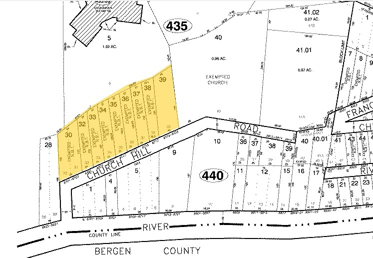 Map illustrates the location of zoning lots (in yellow) where Solaia will be constructed