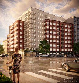 Rendering of 1499 Bedford Avenue - The J Associates