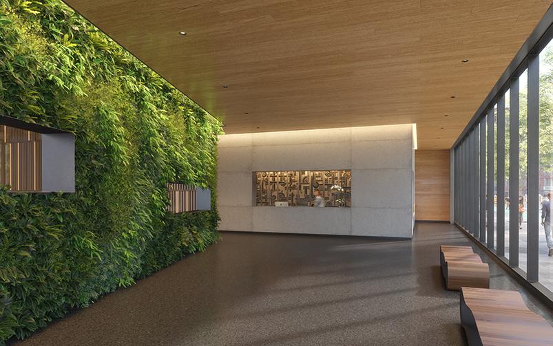 The Artisan's residential lobby - QuallsBenson