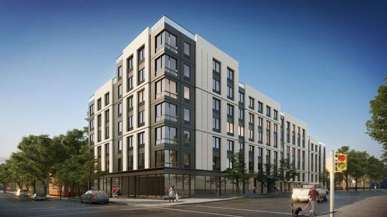 222 Johnson Avenue in East Williamsburg, Brooklyn