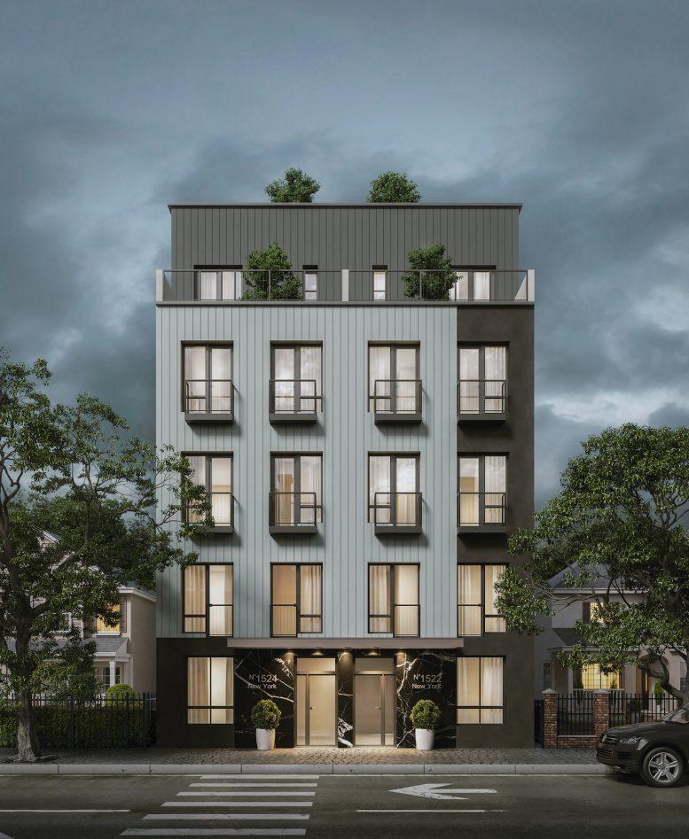 1522-1524 New York Avenue in East Flatbush, Brooklyn