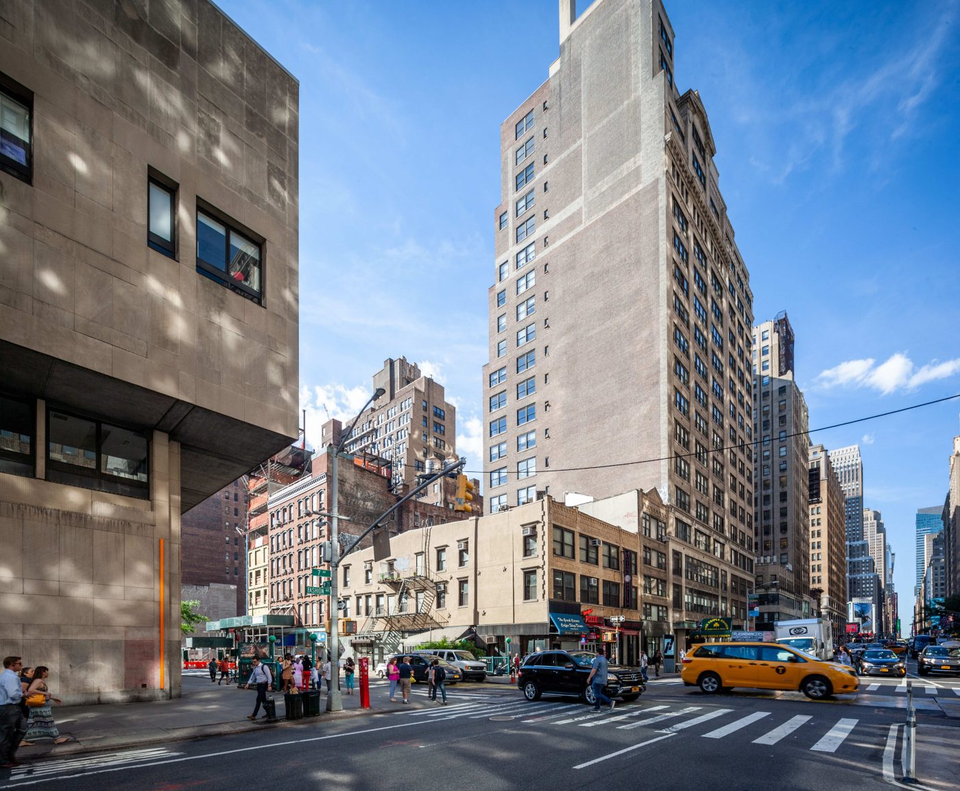 Existing conditions at 322-326 7th Avenue - GDSNY