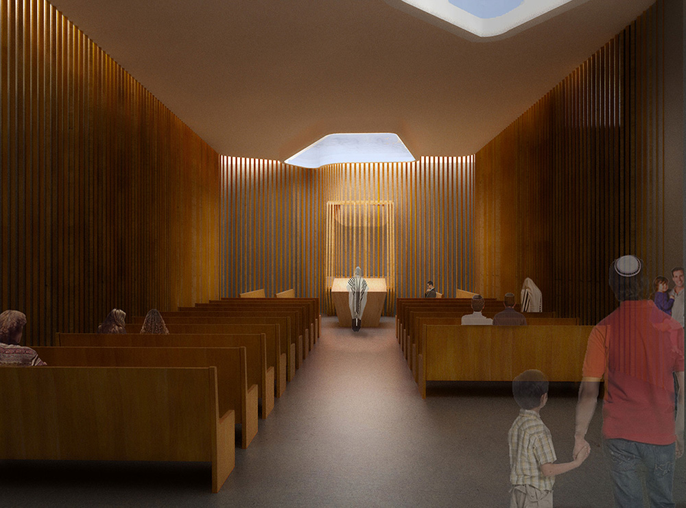 Interior renderings of the SynaCondo Sanctuary - Ryan McLaughlin; Studio St Architects