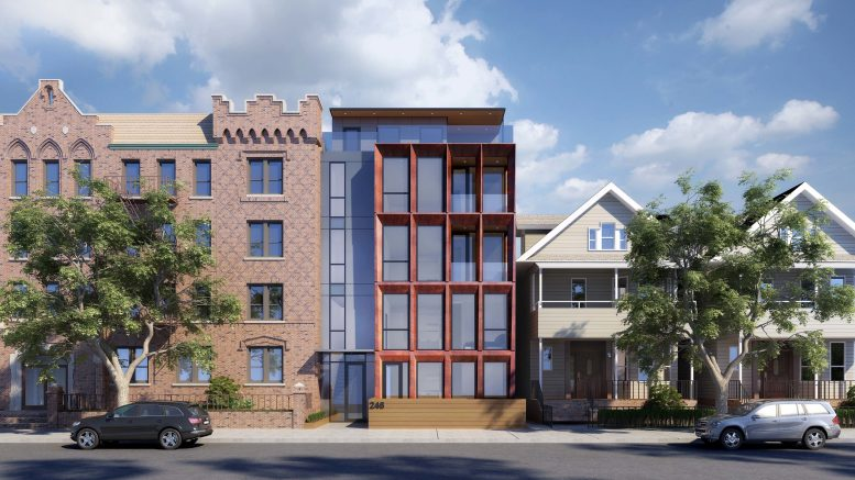 Rendering of 246 Maple Street - Palette Architecture
