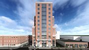Rendering of Jersey City's new Public Safety Headquarters