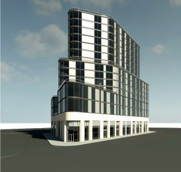 Updated rendering of 98-81 Queens Boulevard - RJ Capital Holdings