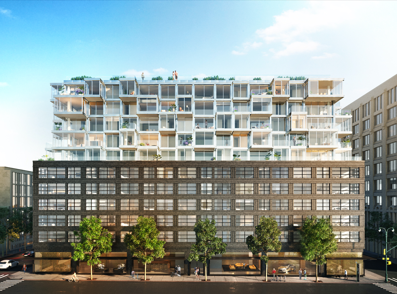 View of The West from 11th Avenue. Rendering courtesy of VUW