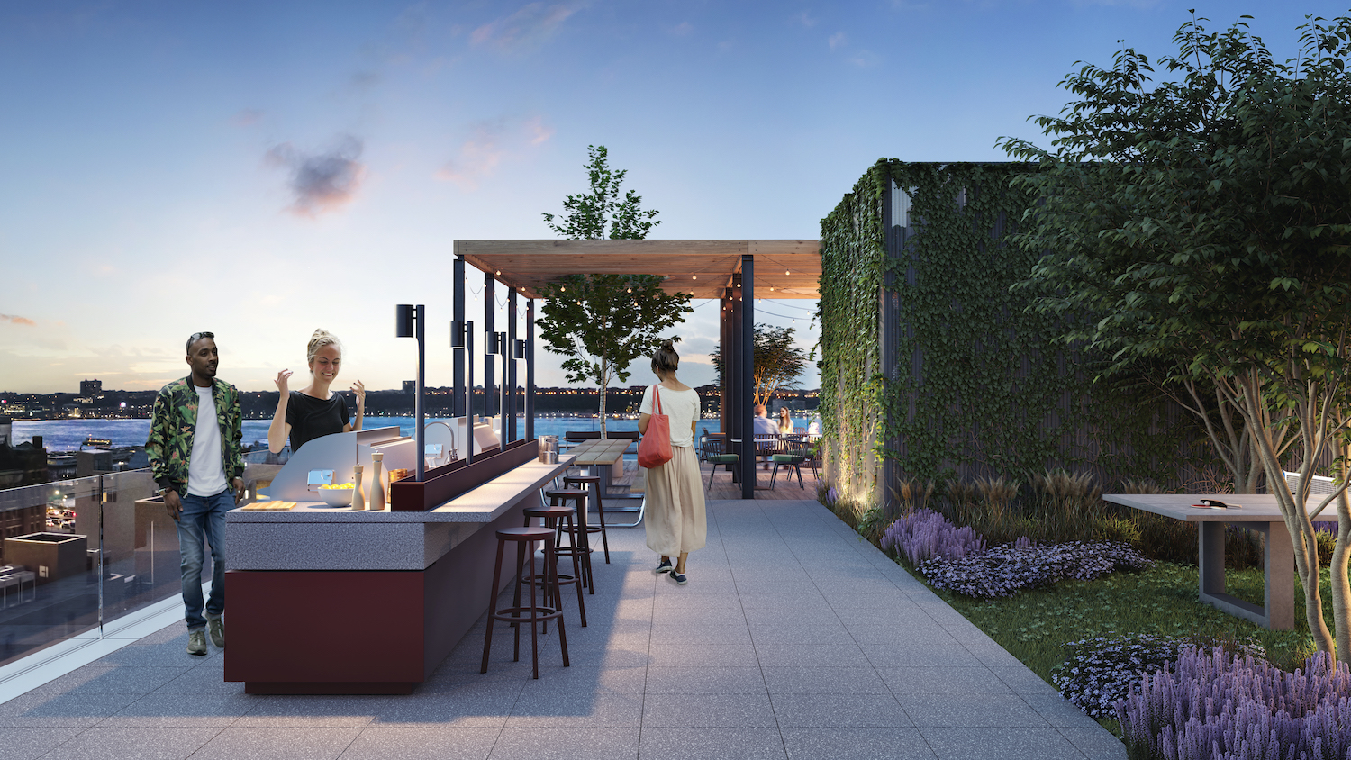 The West. Rendering courtesy of VUW