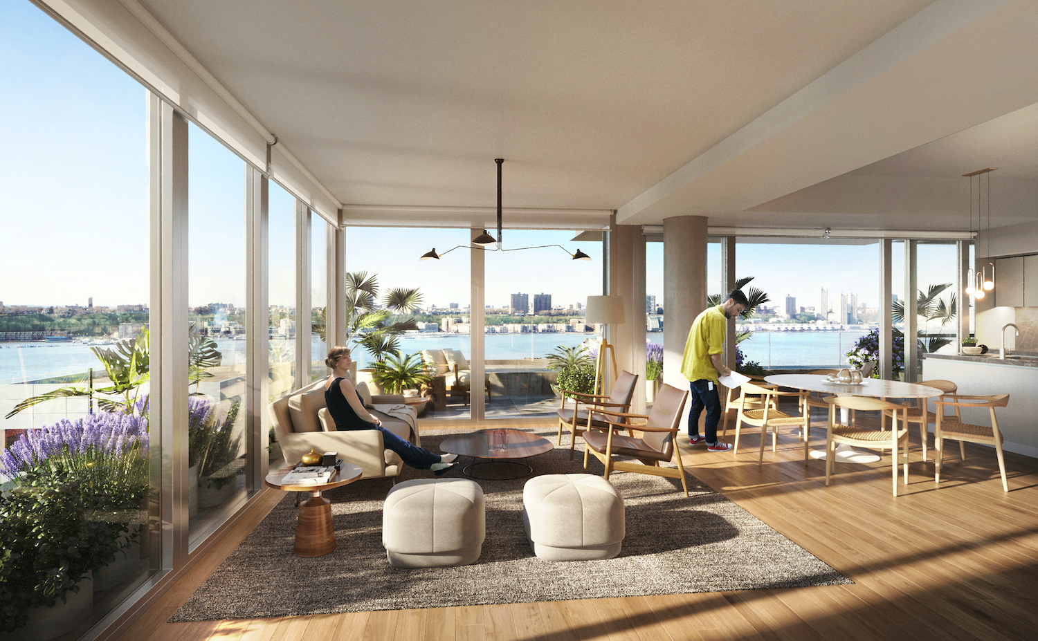 Residential unit at The West. Rendering courtesy of VUW