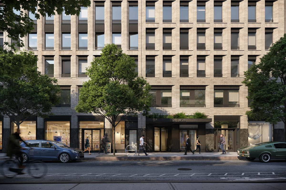 Rendering of 241 West 28th Street - COOKFOX