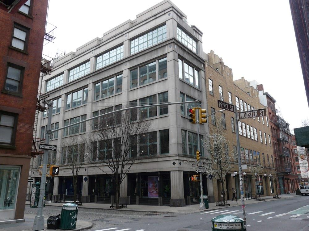 Existing building at 130 Prince Street - Bjarke Ingels Group (BIG)