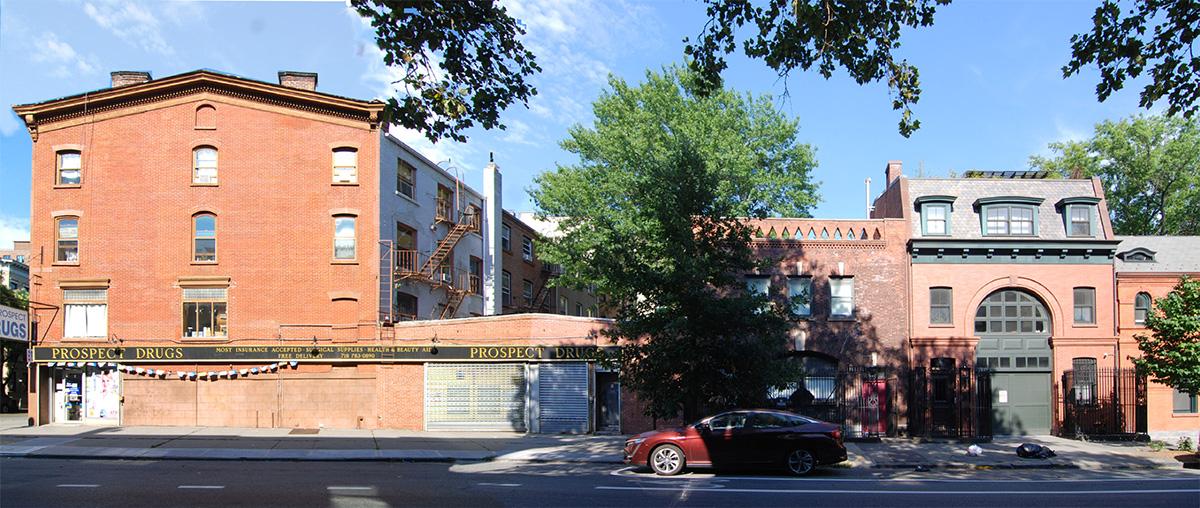 Photo of existing conditions at 405 Vanderbilt Ave - VonDalwig Architecture