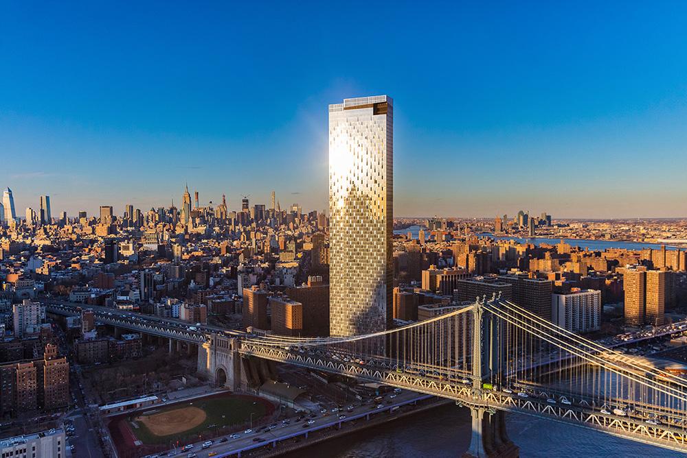Rendering of One Manhattan Square - Courtesy of Evan Joseph