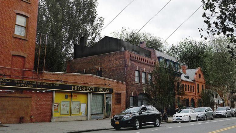 Rendering of rooftop addition at 405 Vanderbilt Ave - VonDalwig Architecture