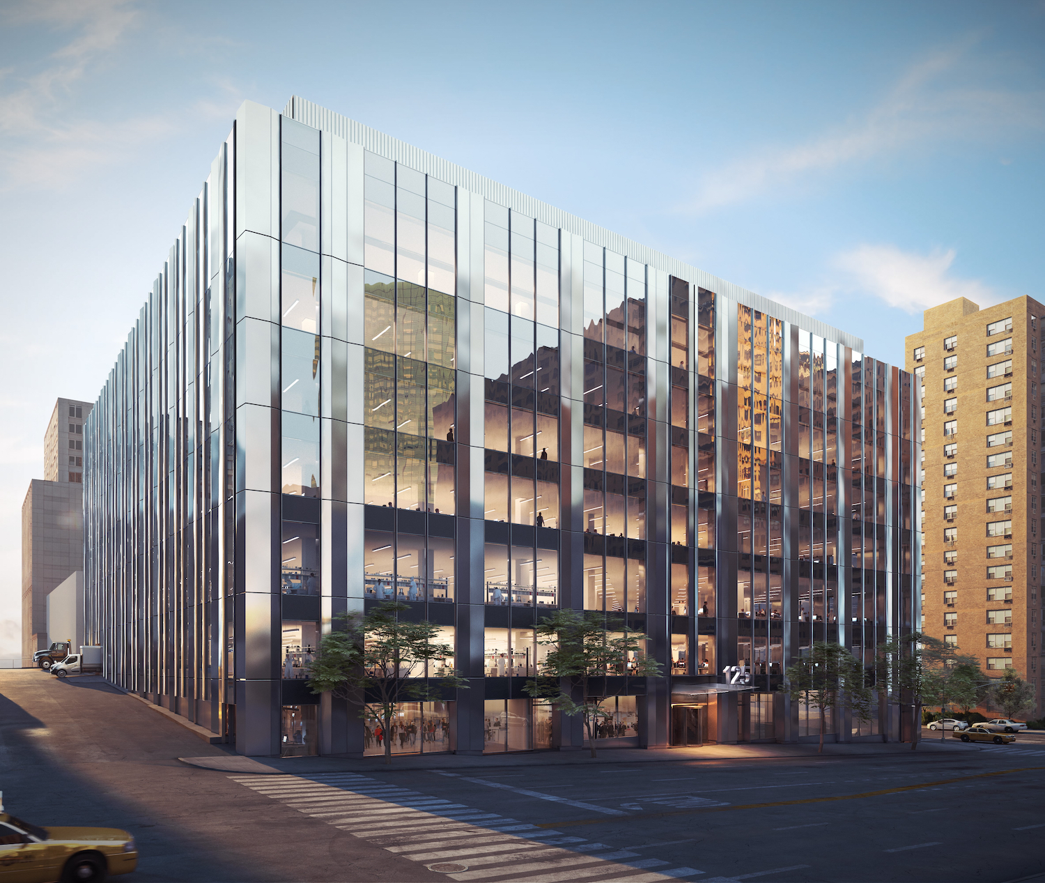 125 West End Avenue. Courtesy of Taconic Partners