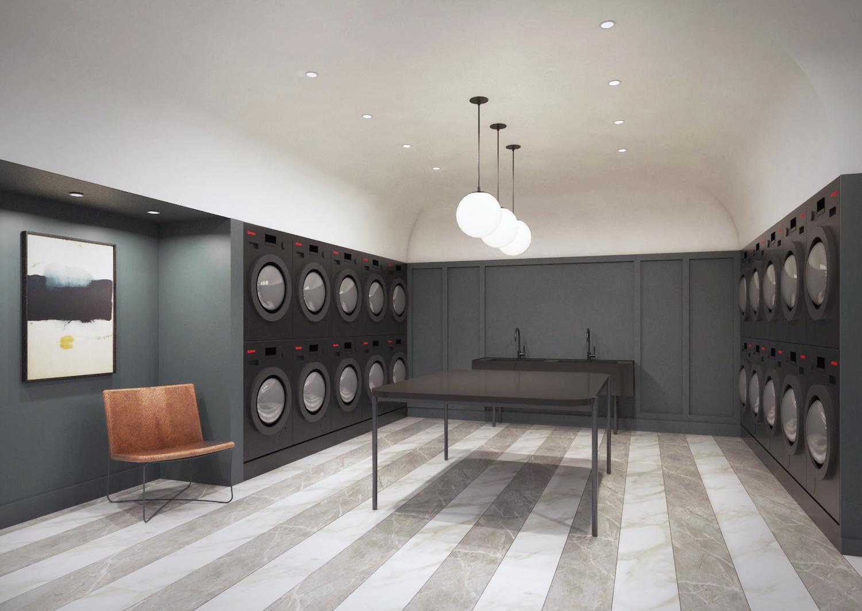 260 Gold Street Laundry Room