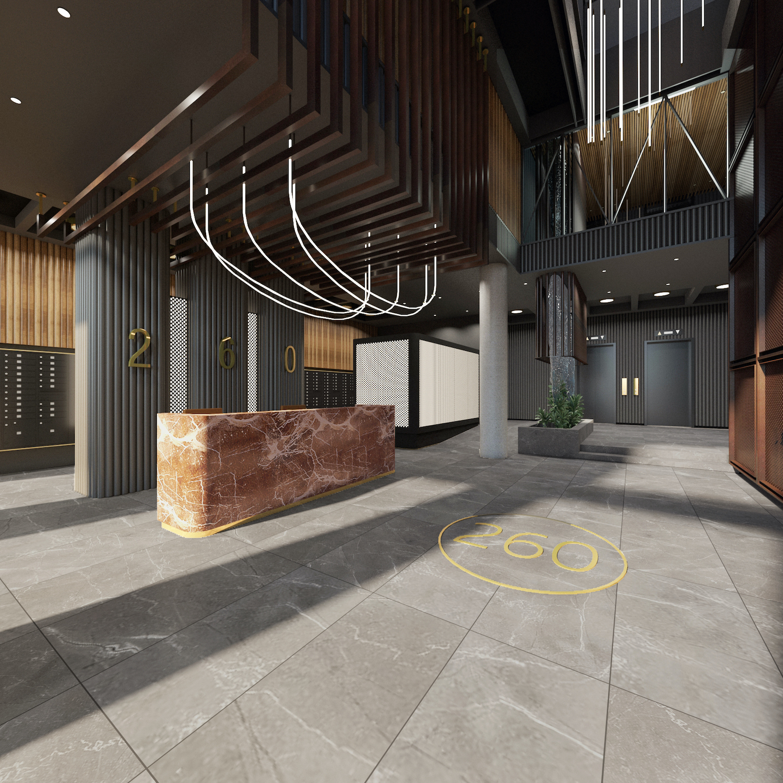 260 Gold Street Lobby
