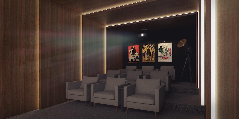 260 Gold Street Screening Room