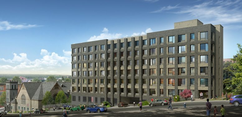 Rendering of Dayspring Commons in Yonkers