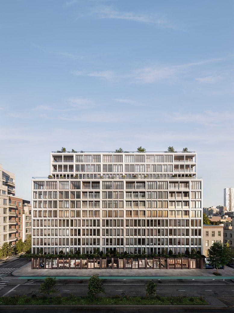 Exterior Rendering of 58 Saint Marks Place - INC Architecture & Design