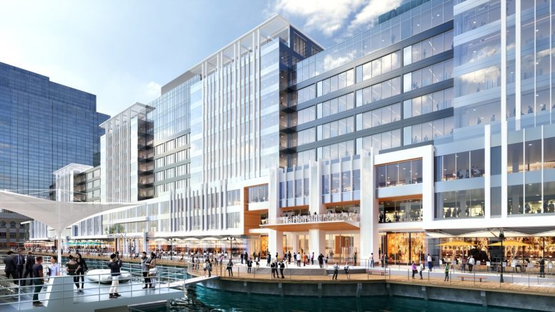 The new exterior for Harborside. Designed by Elkus Manfredi Architects