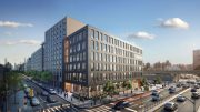Overall rendering of 110 East 149th Street - Dattner Architects