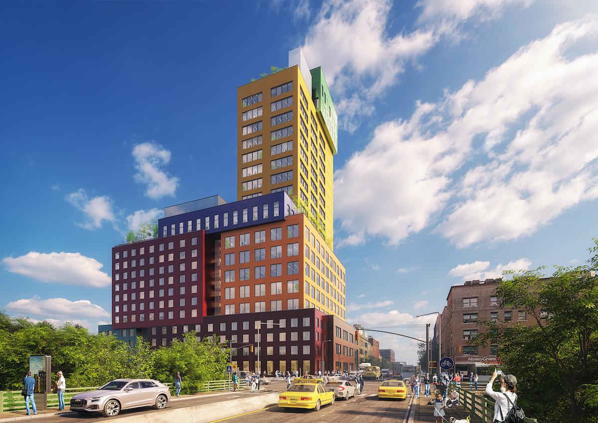 Updated rendering of Radio Tower & Hotel - MVRDV
