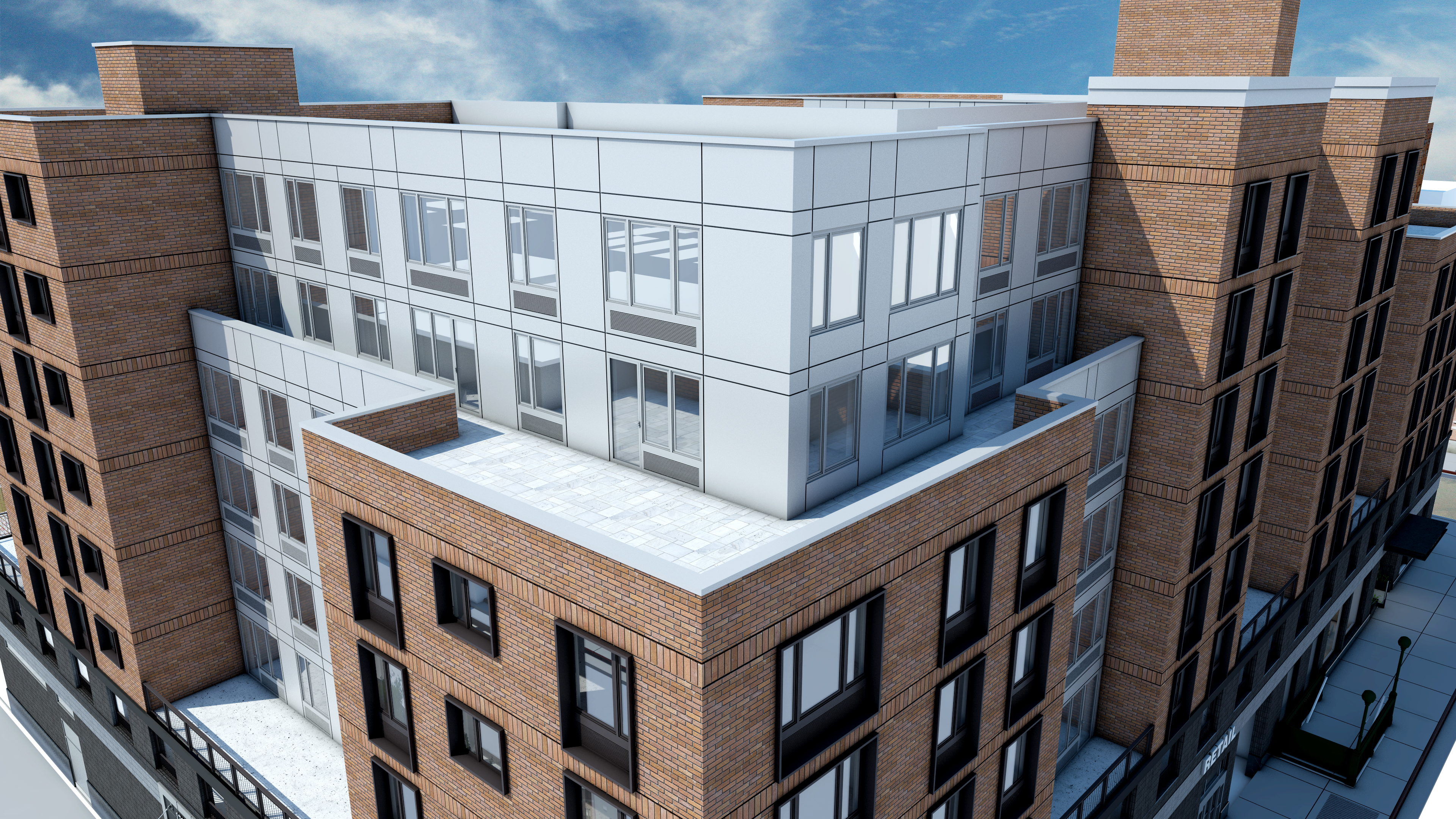Rendering of 178-02 Hillside Avenue - ADG Architecture