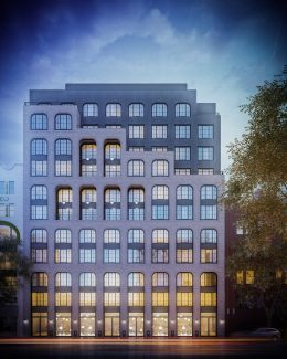 Rendering of 542 Atlantic Avenue - Issac & Stern Architects