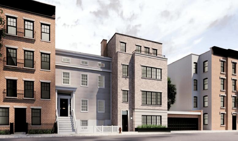 Updated renderings of 56 Middaugh Street proposed in December 2020 - Pratt + Black Architects