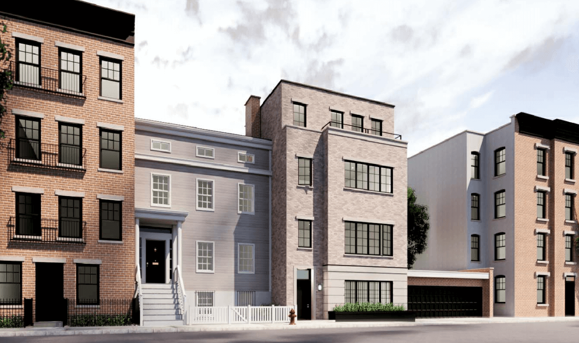 Updated renderings of 56 Middaugh Street proposed in December 2020 - Pratt + Black Architects
