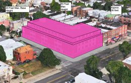 900 Castle Hill Avenue's proposed massing