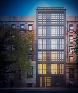 Rendering of 324 East 93rd Street - Issac & Stern Architects