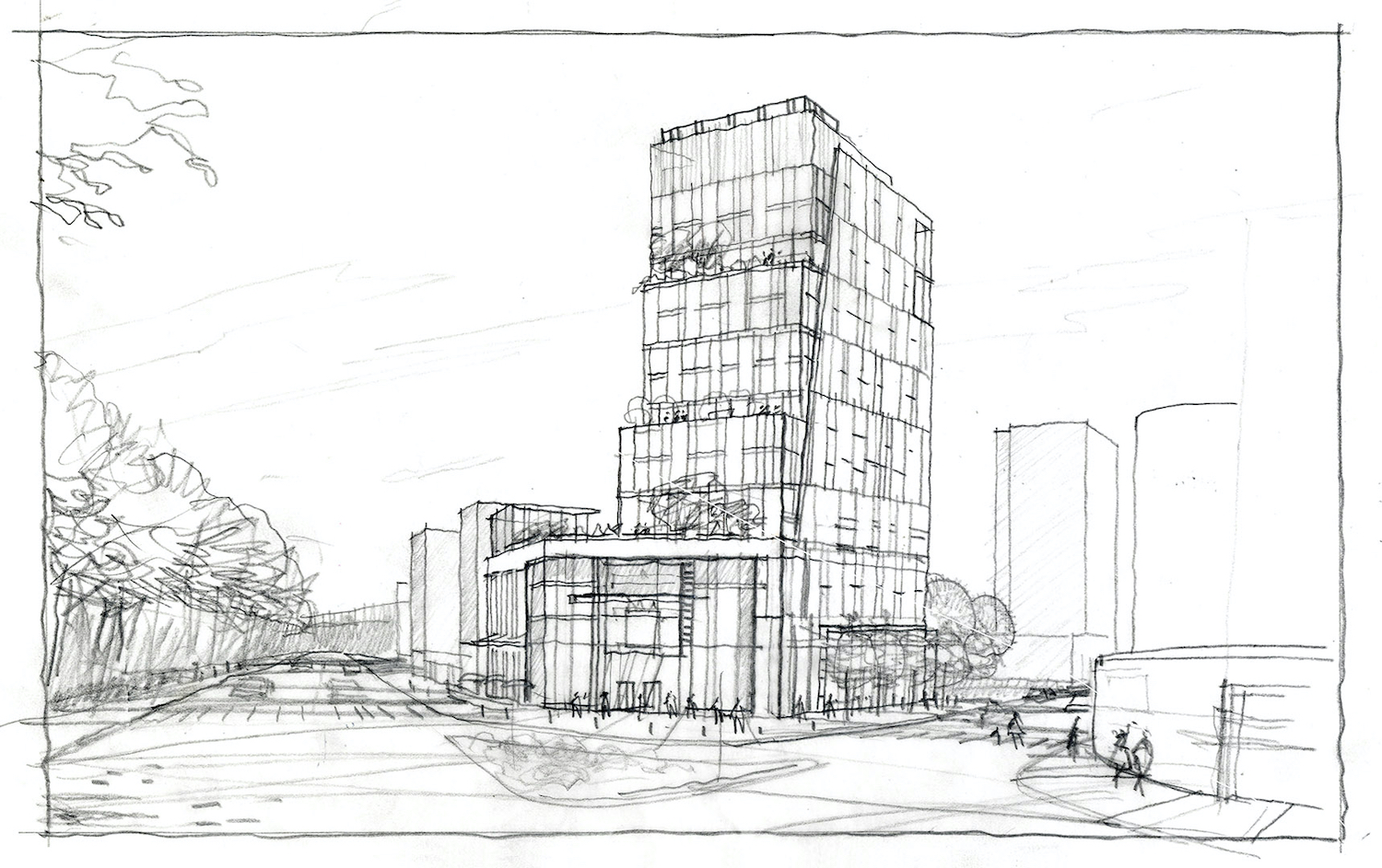 Outdated rendering of 4560 Broadway, a new one has not been released. Courtesy of Largavista Companies