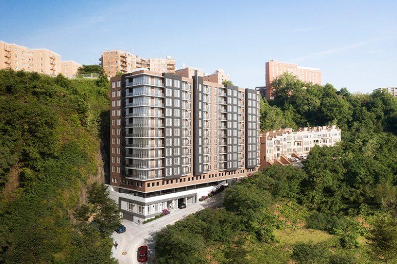 Rendering of SOLAIA - Architectura; Skyline Development Group