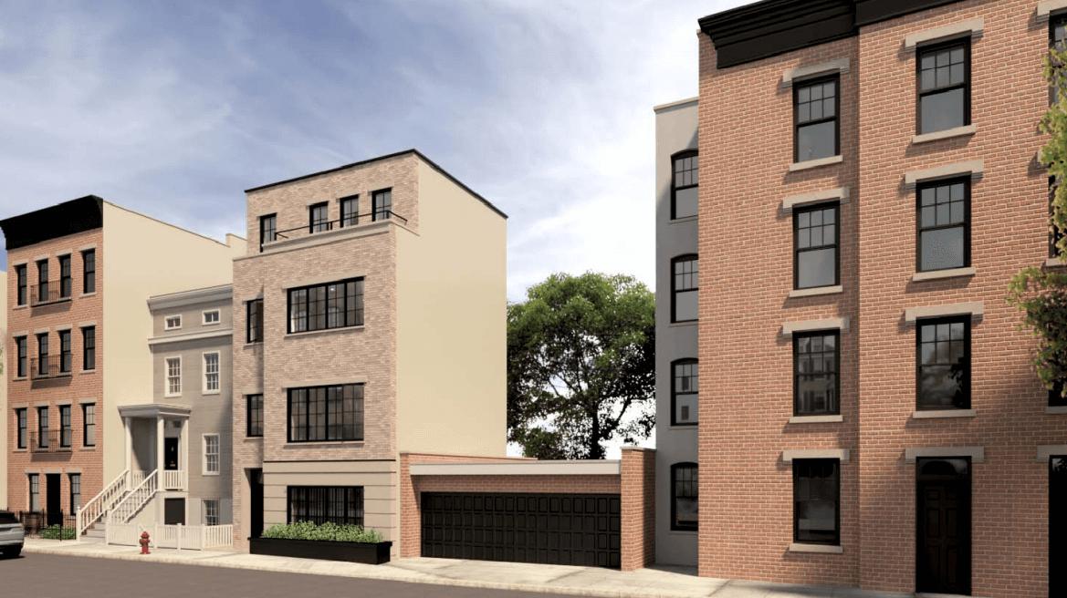 Renderings of 56 Middagh Street proposed in December 2020 - Pratt + Black Architects