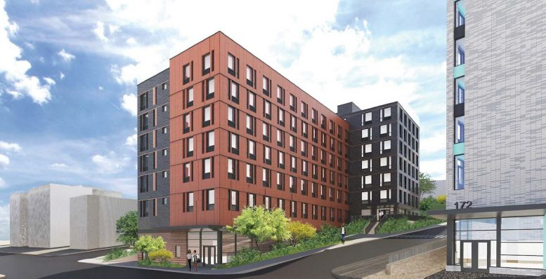 Rendering of 178 Warburton at The Ridgeway. Courtesy of SLCE Architects