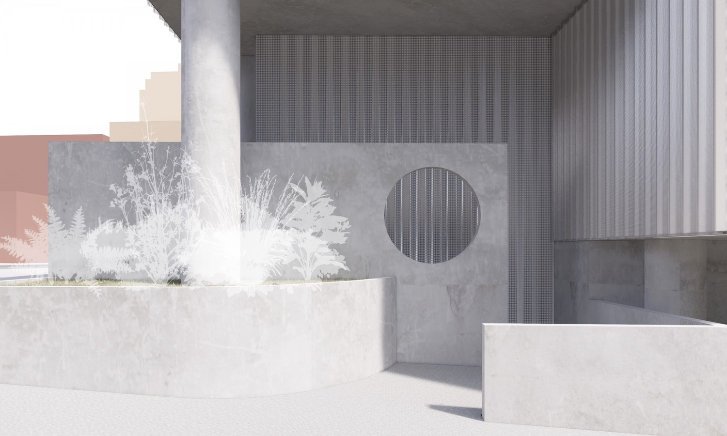 Rendering of Entrance at 219 Jay Street. Courtesy of Tankhouse Development