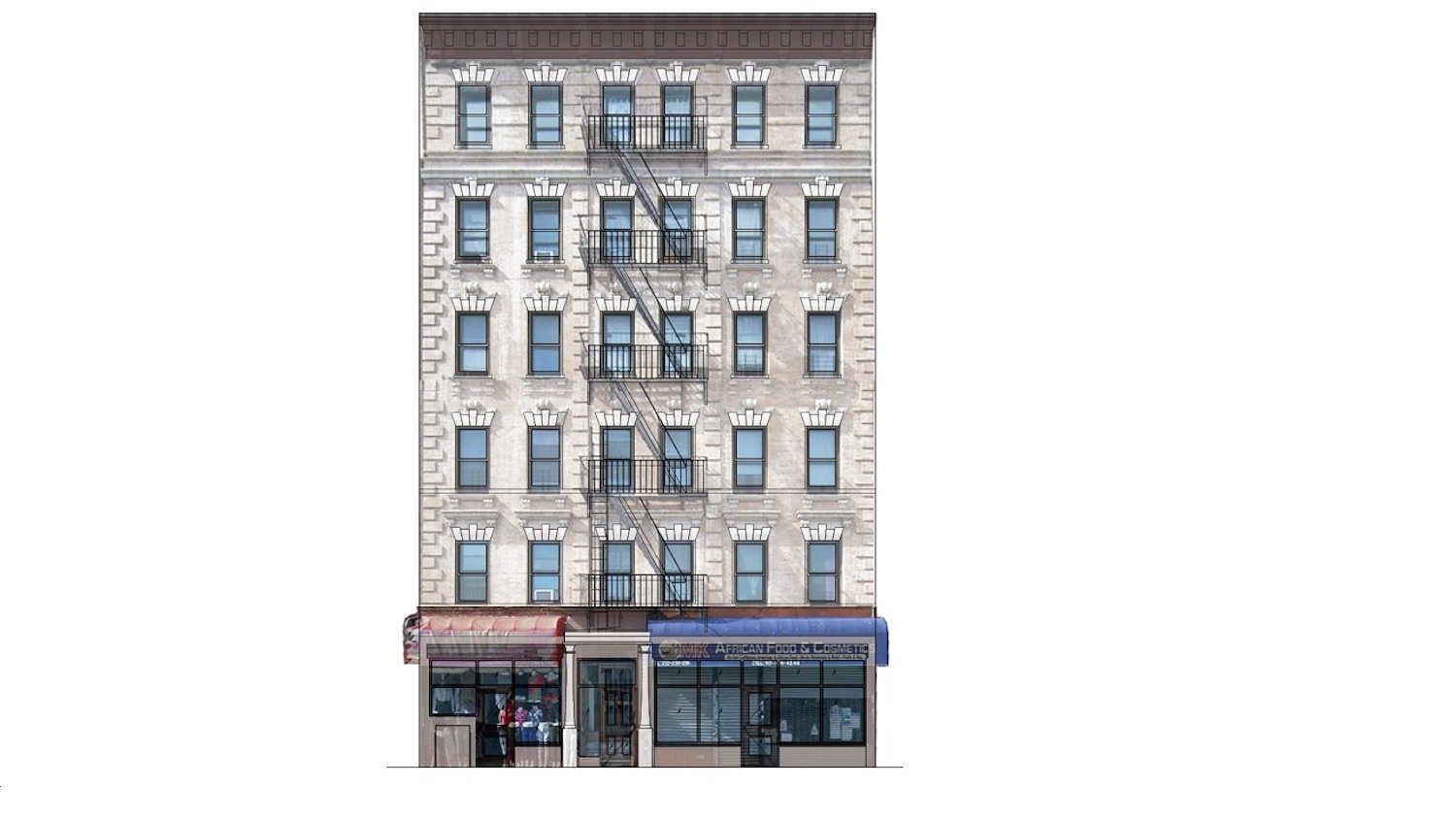 2488 Adam Clayton Powell Jr Boulevard, part of CLOTH Amsterdam Housing Lottery