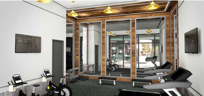 Gym at 2741 Fulton Street