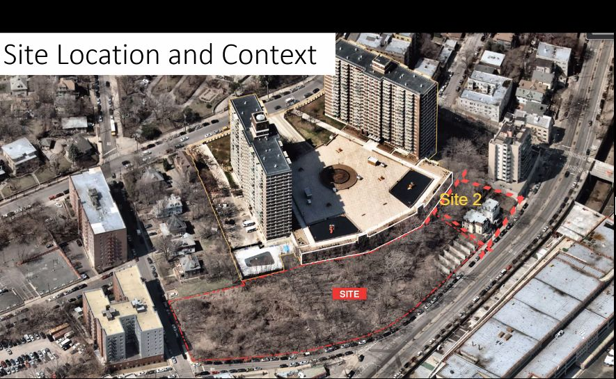 Existing site that will become the River North Development - FXCollaborative