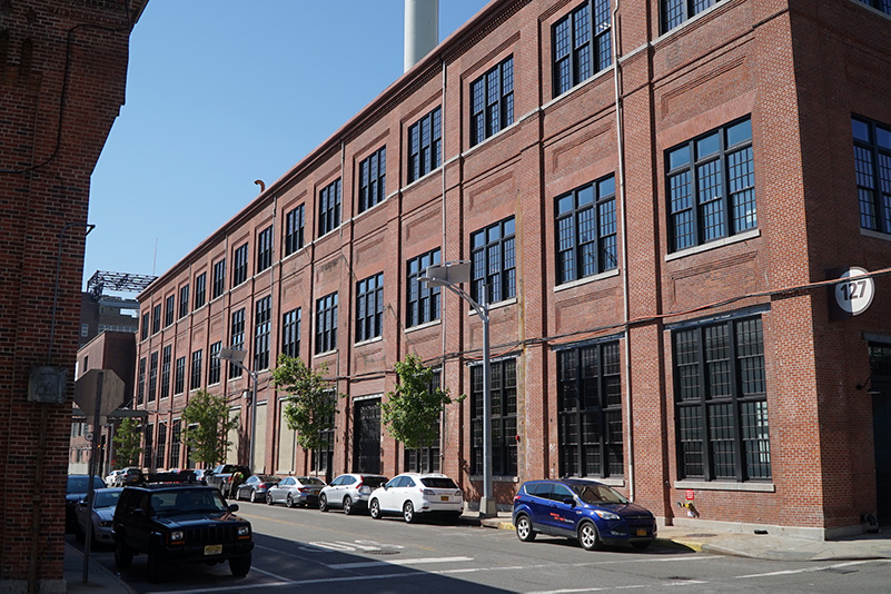 Completed conditions at Building 127 - Brooklyn Navy Yard Development Corporation