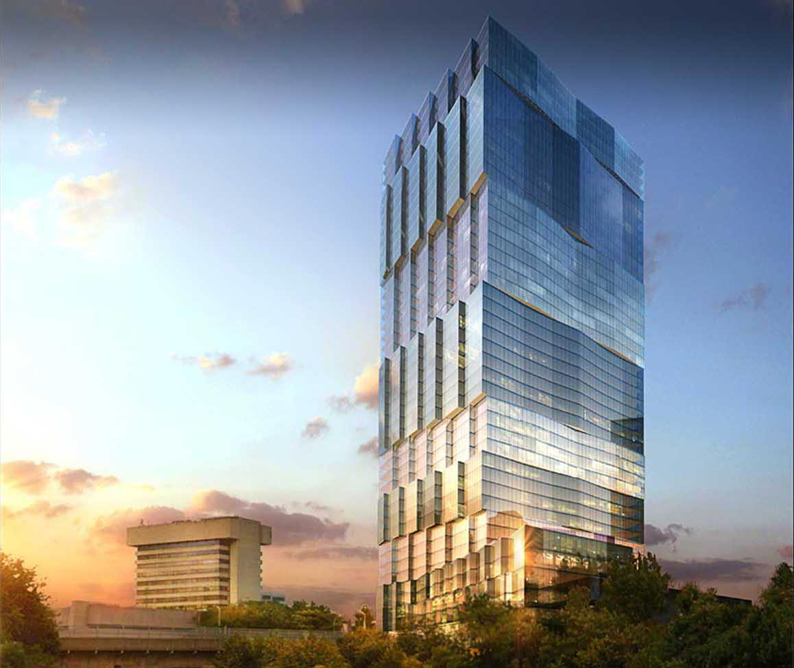 Former rendering of 500 Summit Avenue - HAP Investments; CetraRuddy Architecture