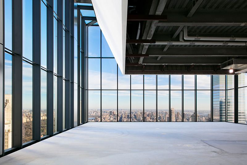 Interior Construction at 425 Park Avenue - Photo by Connie Zhou