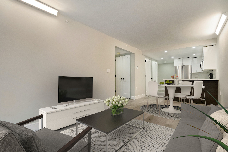 Interiors of 605 Hart Street Apartments