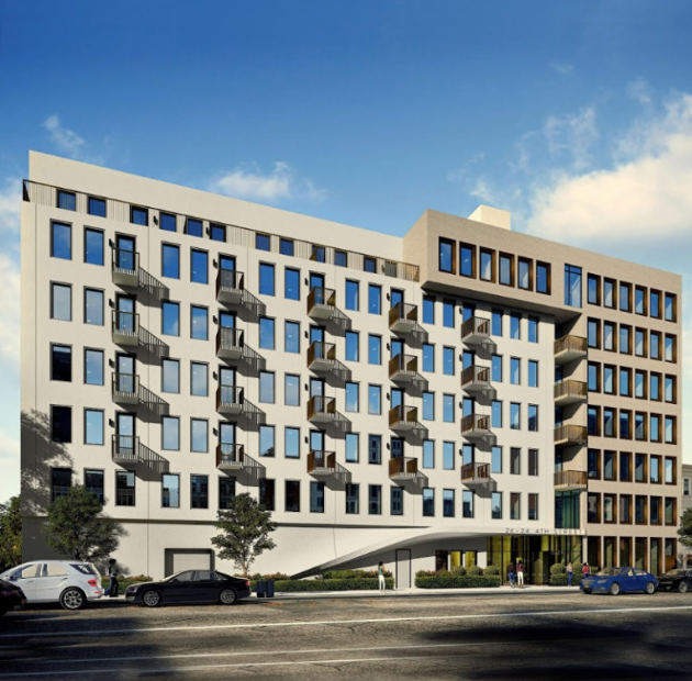 Rendering of 26-24 Fourth Street