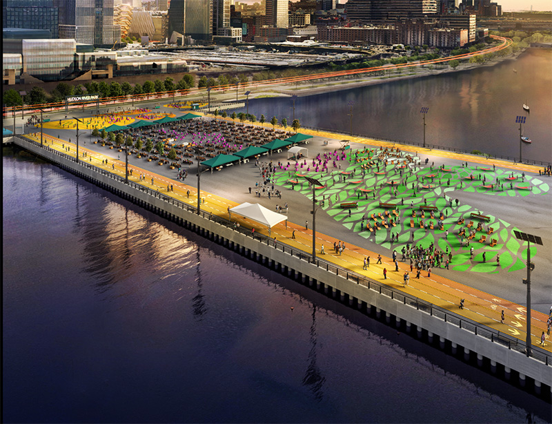 Rendering of Pier 76 - Office of Governor Andrew M Cuomo