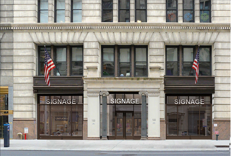 Rendering of proposed retail storefronts along fifth avenue at 122 Fifth Avenue - Studios Architecture